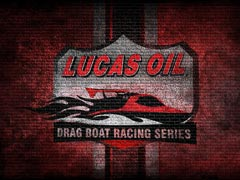 Drag Boats Brickwall Wallpaper