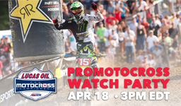 pro motocross watch party