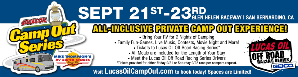 Lucas Oil Camp Out