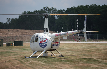Lucas Oil Productions ENG video helicopter.