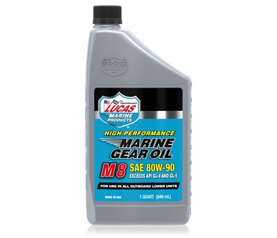Marine Gear Oil Synthetic SAE 80W-90 M8