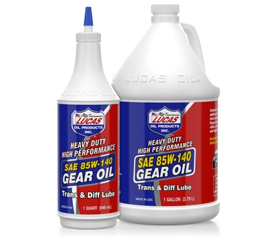 Heavy Duty 85W-140 Gear Oil