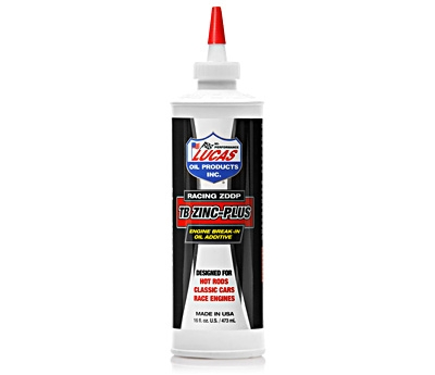 Engine Break-In Oil Additive - TB Zinc Plus