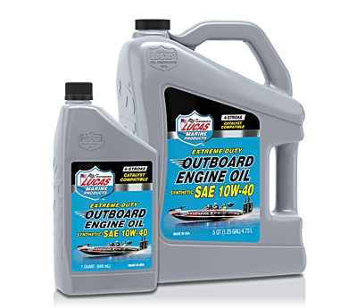 Outboard Engine Oil Synthetic SAE 10W-40